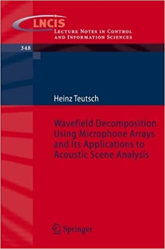 Modal Array Signal Processing: Principles and Applications of Acoustic Wavefield Decomposition (Lecture Notes in Control and Information Sciences) by Heinz Teutsch (2007-03-05)