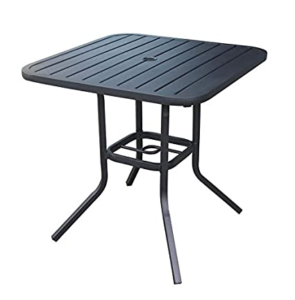 Amazon heavy duty steel frame 295 in x 295 in square bistro heavy duty steel frame 295 in x 295 in square bistro patio bar restaurant outdoor dining watchthetrailerfo