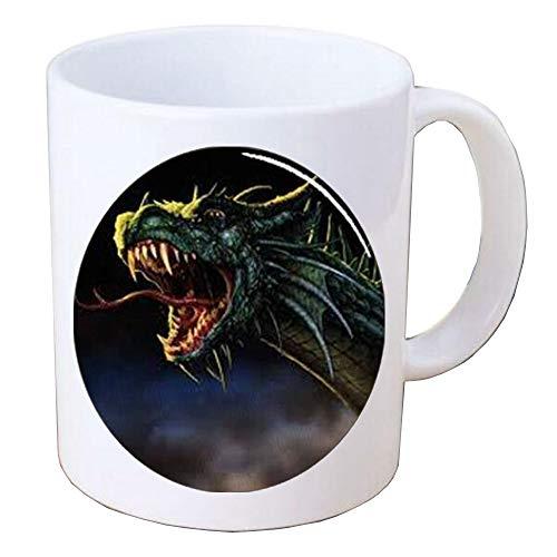 Dragon Handcrafted Coffee Mug Mug,dragon gifts,simple jewellery,Mug Coffee Mug,BV187