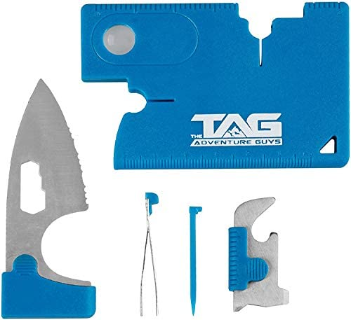 10 in 1 Survival Multitool Outdoor Camping Survival Credit Card best F8X0
