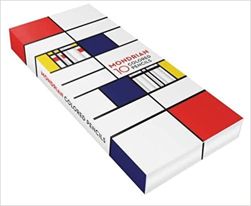 Mondrian Colored Pencils (Stationery)