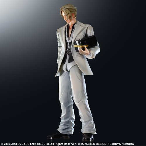 - Square Enix Final Fantasy VII: Advent Children Rufus Shinra Action Figure