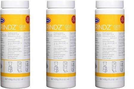 Urnex Grindz Professional Coffee Grinder Cleaning Tablets, 430 grams (3-(Pack))
