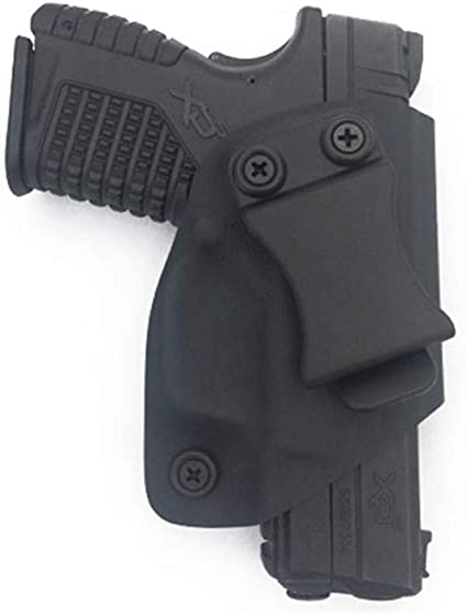 DOUBLE MAG Magazine HOLSTER BLACK CARBON KYDEX FITS KIMBER MICRO 9MM OWB