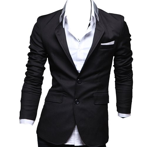 Zeagoo Men's Casual Dress Slim Fit Stylish Suit Blazer Coats