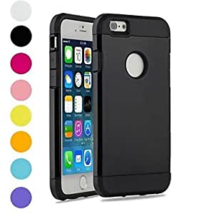 ZCL Two-in-One Armor Design PC and Silicone Cover for iPhone 6 (Assorted Colors) , Orange