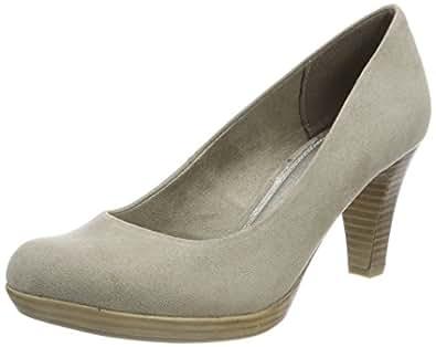 Zapatos beige Marco Tozzi para mujer Descuento en línea TDKUM