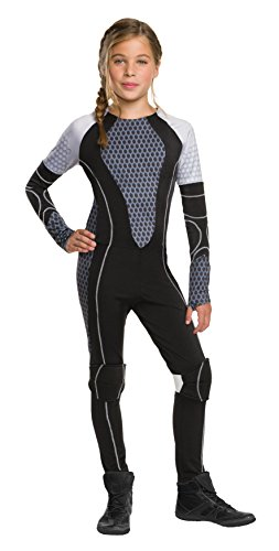 Rubie's CostumeThe Games Catching Fire The Hunger Games Katniss Costume, Medium, One (Katniss Costumes Kids)