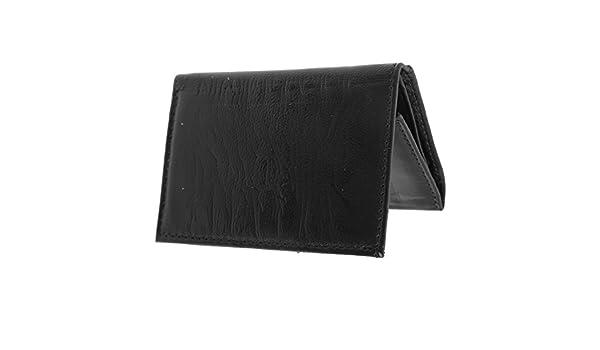 Forest - Billetera/ Monedero/ Cartera de piel compacta para caballero/hombre - Modelo River (Talla Única/Negro): Amazon.es: Ropa y accesorios