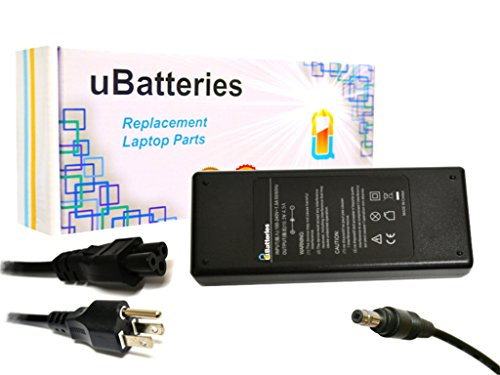 UBatteries Compatible 18.5V 4.9A 90W AC Adapter Charger Replacement For HP 239428-001 239705-001 283884-001 286755-001 287515-001 310744-002 432309-001 613150-001 Series