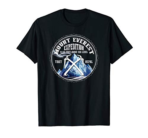 """The Official """"Mount Everest Expedition"""" Mt Everest T-shirt"""