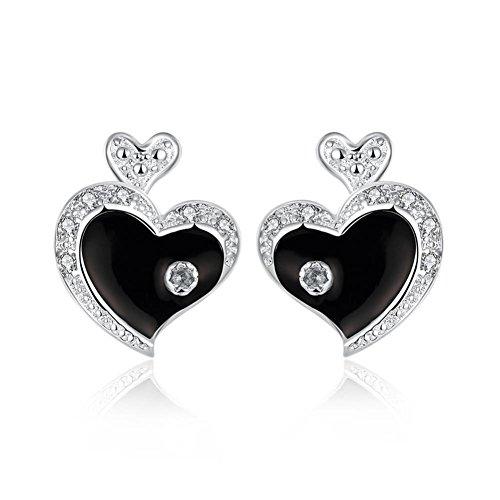 Heart-shaped Earrings Ladies Earrings Everyday Earrings