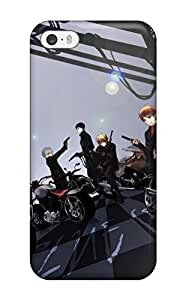 Premium Tpu Ao No Exorcist Characters Cover Skin For Iphone 5/5s