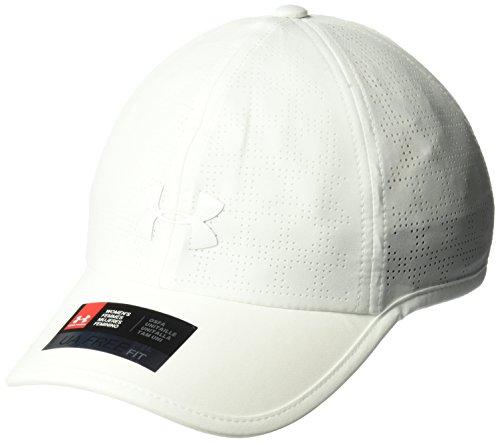 Under Armour Women's Driver 2.0 Cap, White (100)/White, One Size