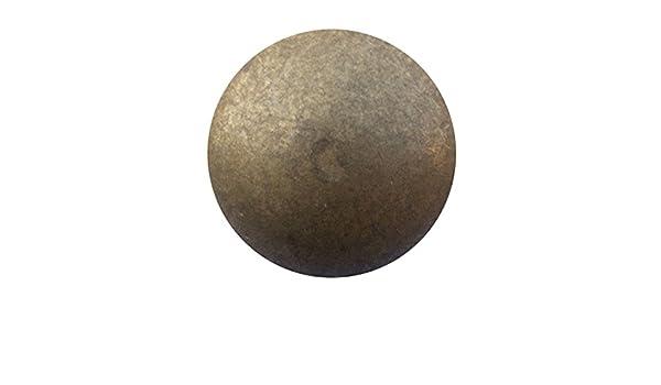 "200 PK CS Osborne Leather Upholstery Tacks Brass 7//16/"" head size"