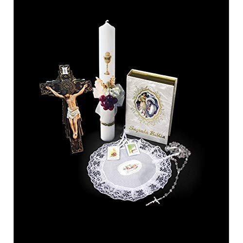 SF001 Catholic & Religious Gifts, First Communion Gift Set Girl Spanish