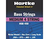 Hartke HSB450 Medium Bass Strings (4-String Set)
