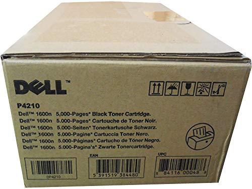 Dell P4210 1600N X5015 310-5417 Toner Cartridge (Black) in Retail - Printer Toner 1600n Dell