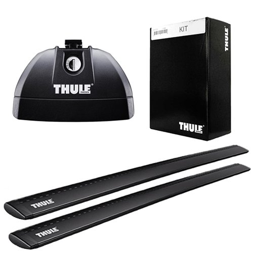 THULE ベースキャリア1台分セット ウイングバー(黒) (753+962B+3084) MERCEDES BENZ Vクラス、ビアノ、ヴィト Tトラック付 98~'03 638# B079N9RDPB
