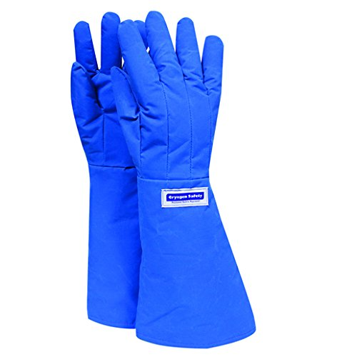 National Safety Apparel X-Large 3M Scotchlite Thinsulate Lined Nylon Taslan And PTFE Elbow Length Waterproof Cryogen Gloves