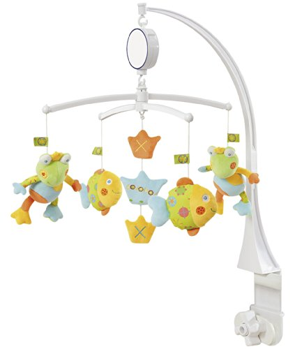 Fehn Lomolos Collection Musical Mobile Frog King Lolo by Fehn