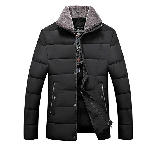 Per Di I Mezza Hhy Degli Ispessimento Imbottiti Cotone Uomini inverno Nera 170 Il Tempo Età Vestiti Libero Vestiti 500pqCw