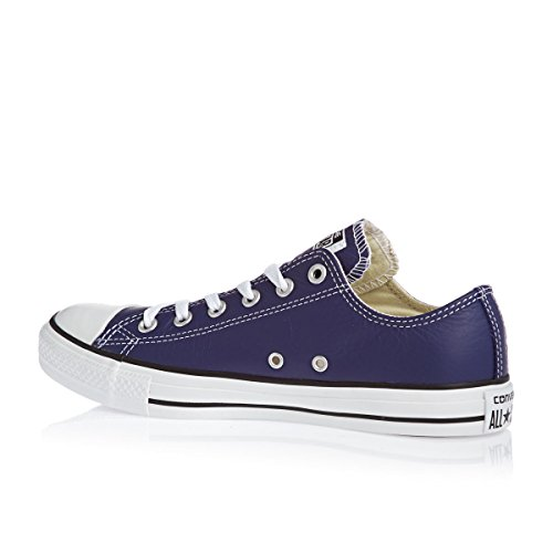 Converse Leather All Star, Unisex - Erwachsene Sneaker Blau - Marineblau