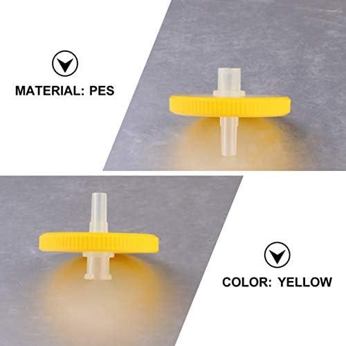 Spritzenfilter gr/ün PES-33mm-0.45/μm PES-Membran Durchmesser 33 mm Porengr/ö/ße 0,22 /μm 25 St/ück von Allpure Biotechnology sterilisiert einzeln verpackt
