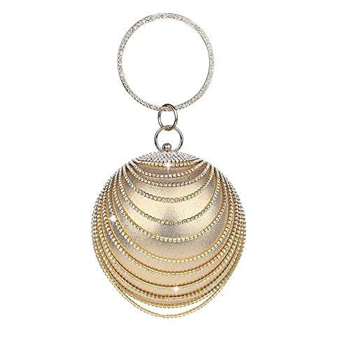 Puluo pour Or femme Gold Pochette 1 TxwSTq