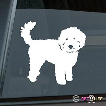 Mister Petlife Labradoodle Sticker Vinyl Auto Window v2 Doodle