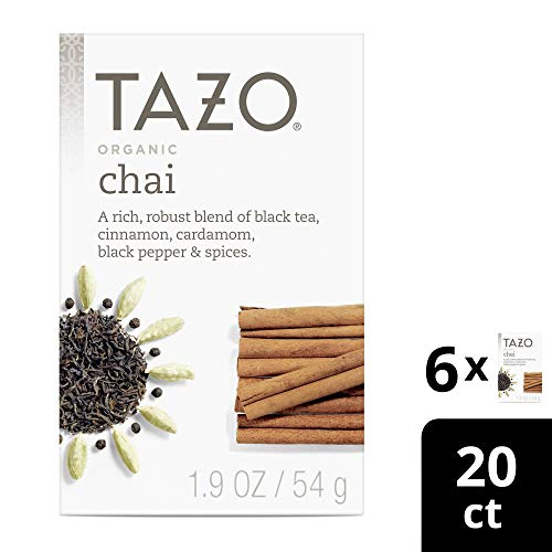 Tazo Organic Spicy Ginger Herbal Tea Filterbags