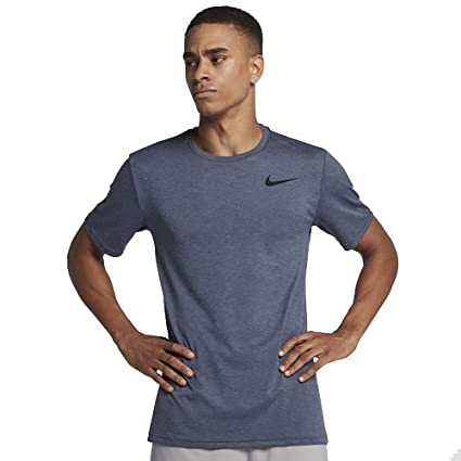 7b6b1391 Image Unavailable. Image not available for. Color: NIKE Mens Breathe  Dri-Fit Short Sleeve Training Shirt ...