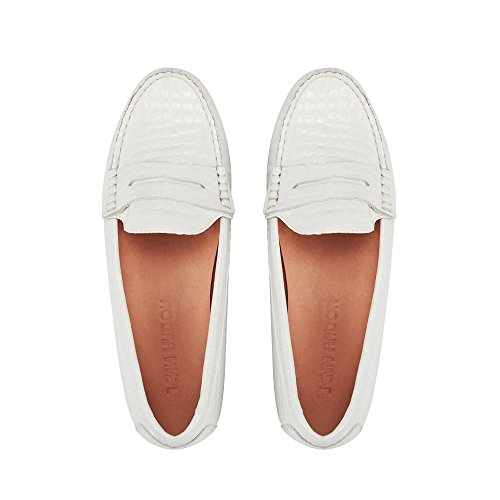 Top moccasins women loafer white for 2019