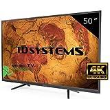Televisor Led 50 Pulgadas Ultra HD 4K Smart TD Systems K50DLY8US. Resolución 3840 x 2160, 3X HDMI, VGA, 2X USB, Smart TV.