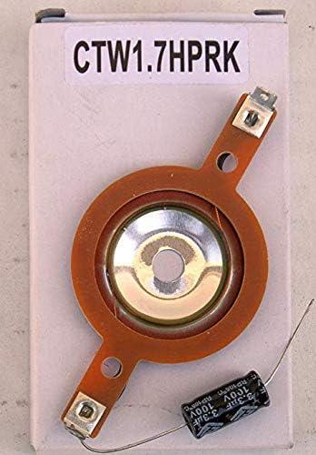 Orion CTW1.7HP Cobalt Series 3.8 300W Peak Power Pro Audio Car Stereo Speaker Super Tweeters