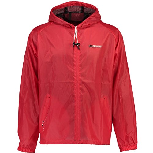 Norway Imperméable Manteau Rouge Homme Geographical 1qfwgx