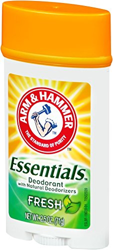 ARM & HAMMER Essentials Natural Deodorant, Fresh 2.5 oz (Pack of 6) by Arm & Hammer (Image #3)