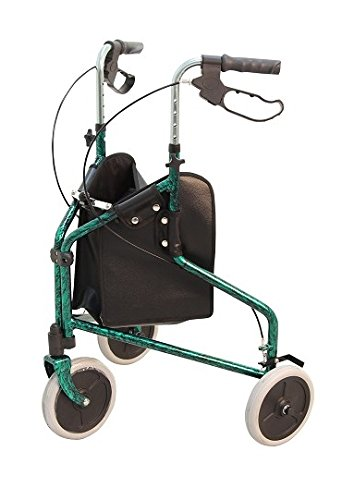 Merits Health Products Merits 3 Wheel Rollator - W340REDBX - Red, 2 Each / Box