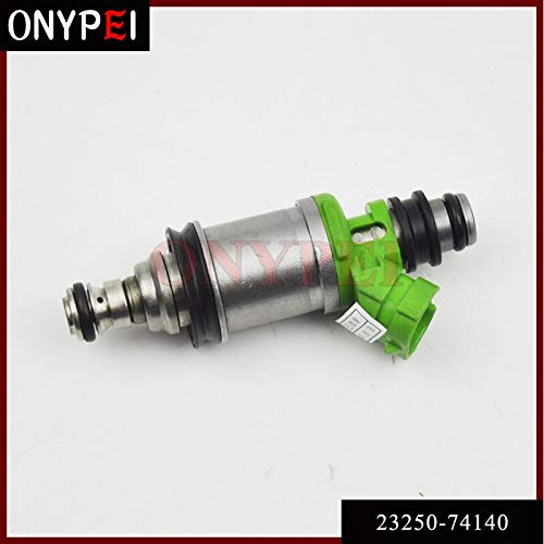 Fuel Injector 23250-74140 23209-74140 for Toyota Camry Celica Solara 2.2L RAV4 2.0L L4 2325074140 2320974140 Fuel Injectors & Parts Fuel System