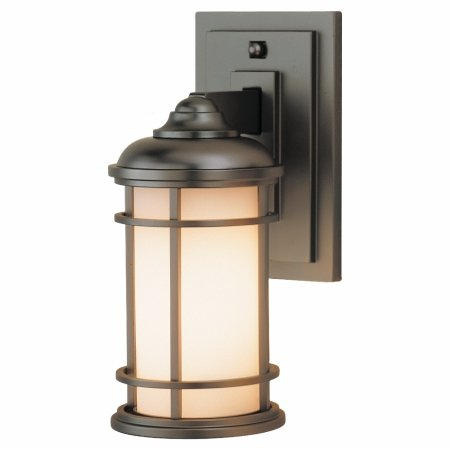 Murray Feiss OL2200BB-LED 1 - Light Wall Lantern Burnished Bronze-Pack of 2 Bronze Lighthouse Lantern