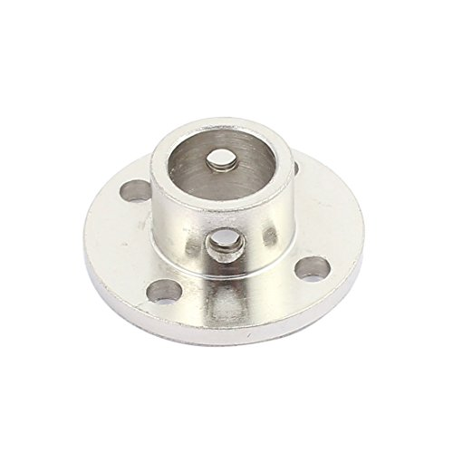 uxcell 12mm Rigid Flange Coupling Motor Guide Shaft Coupler Motor Connector for DIY Parts