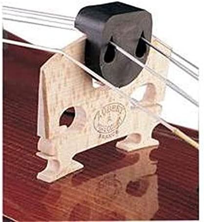 Violin Mute or Viola Rubber Practice Noise Silencer Round Tourte Design UK