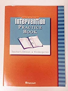 Hardcover Trophies, Grade K : Intervention Practice Book