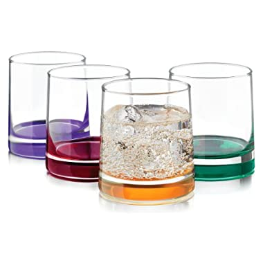 Libbey 4-pc. Impressions Colors Rocks Glass Set
