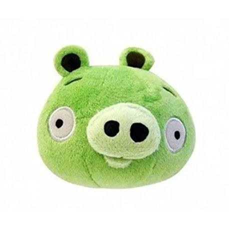 Angry Birds 5-Inch Plush - Green Pig free shipping