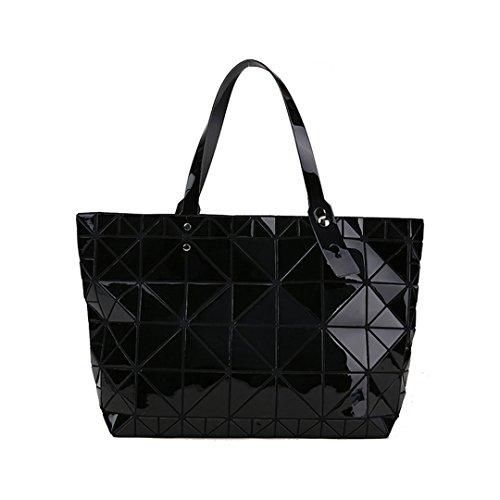 Diamants femelle Sac tendance bandoulière femmes Black mosaïque Designer main des à Qualité Argent à Sacs géométrique Sacs n80x4HW6q