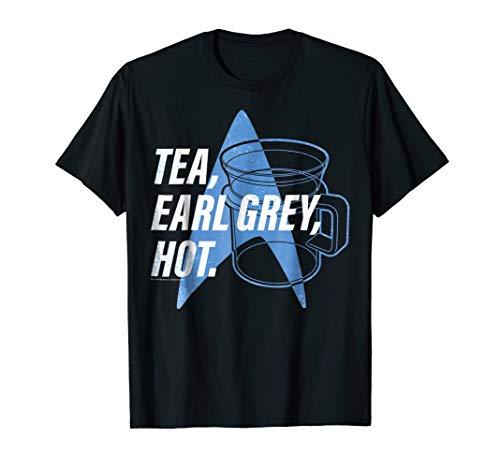 Star Trek Next Generation Tea Earl Grey Graphic T-Shirt