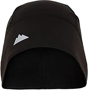 Tough Headwear Skull Cap/Helmet Liner/Running Beanie - Ultimate Thermal Retention and Performance Moisture Wicking. Fits Under Helmets
