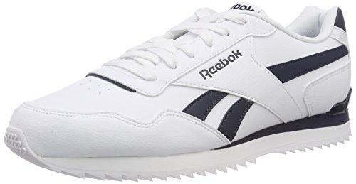 Reebok Royal Glide, Chaussures de Running Compétition Homme, Multicolore (White/Collegiate Nav Bd5321), 42.5 EU