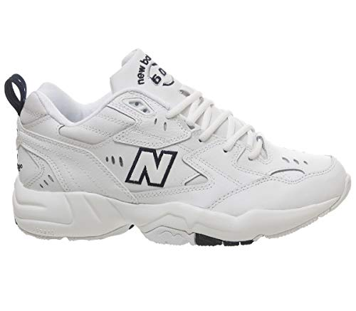 New Balance Navy Mens Comfort Casual White Mx608 V1 Schoenen Rr7rw